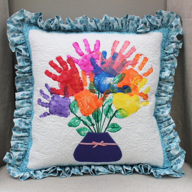 Teacher Appreciation Gift: Hand Print Pillows & Rachael Dorr: Teacher Appreciation Gift: Hand Print Pillows pillowsntoast.com