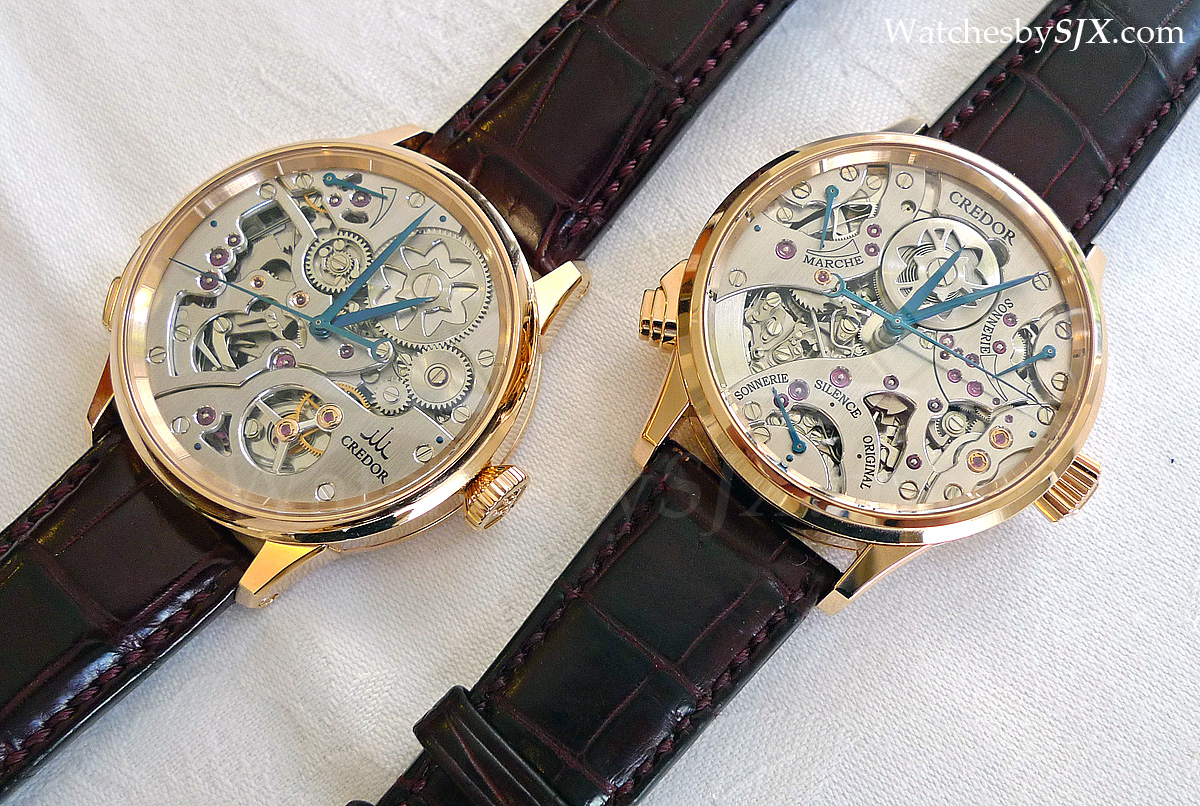 watches by sjx on with the credor drive