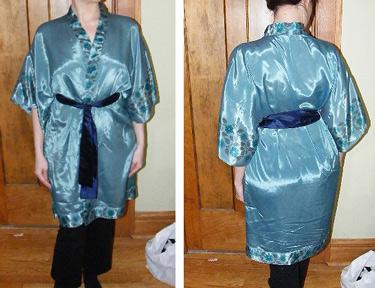 Burda Silk Kimono