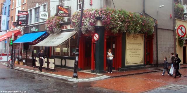 Temple Bar, la calle de los pubs en Dublín
