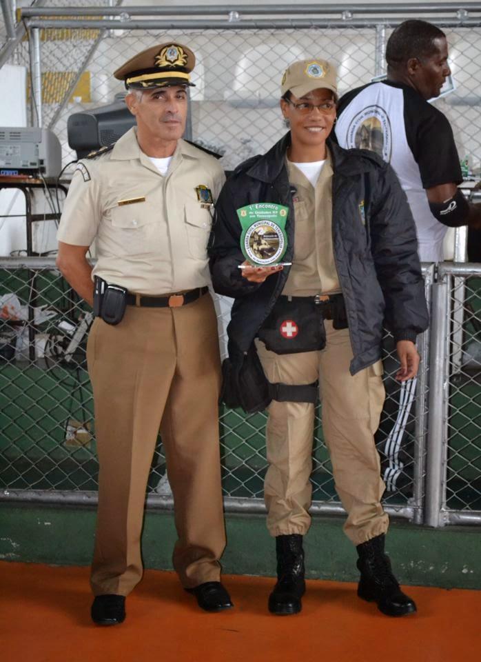 O 2º lugar na detecção de entorpecentes fica com a Guarda Municipal do Rio de Janeiro