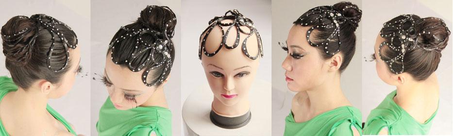 Design To Girl Ballroom Dancing Hairstyles