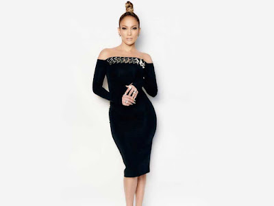 Jennifer Lopez in Black Dress