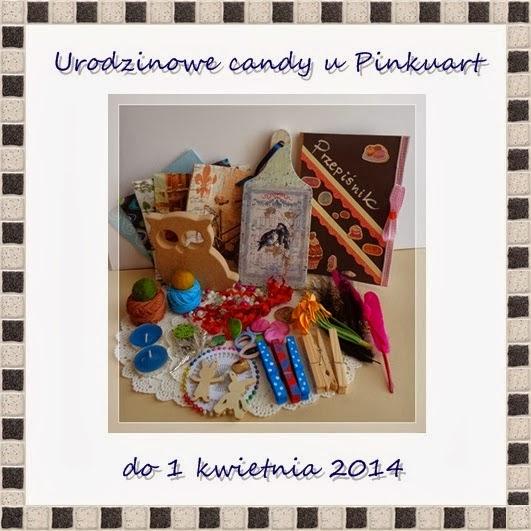 Candy urodzinowe u Pinkuart
