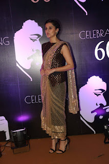 Tapsee Latest Hd Photos At Chiranjeevi 60th Birthday Party