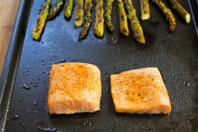 Recipe for Roasted Salmon and Asparagus Salad with Mustard Vinaigrette ...
