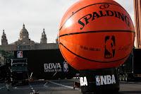 NBA at Montjuic