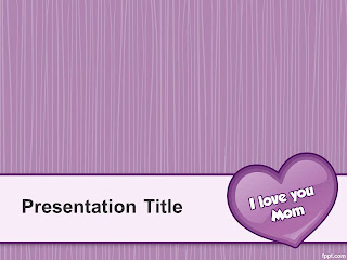 Mother's Day PowerPoint template 005A