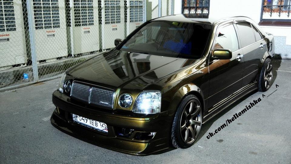 Toyota Progres, luksusowe sedany, oryginalne, samochody, auta, mało znane, JDM, zdjęcia