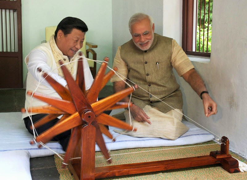 Xi Jinping with PM Modi: Xi asked PLA to build Aerospace Force