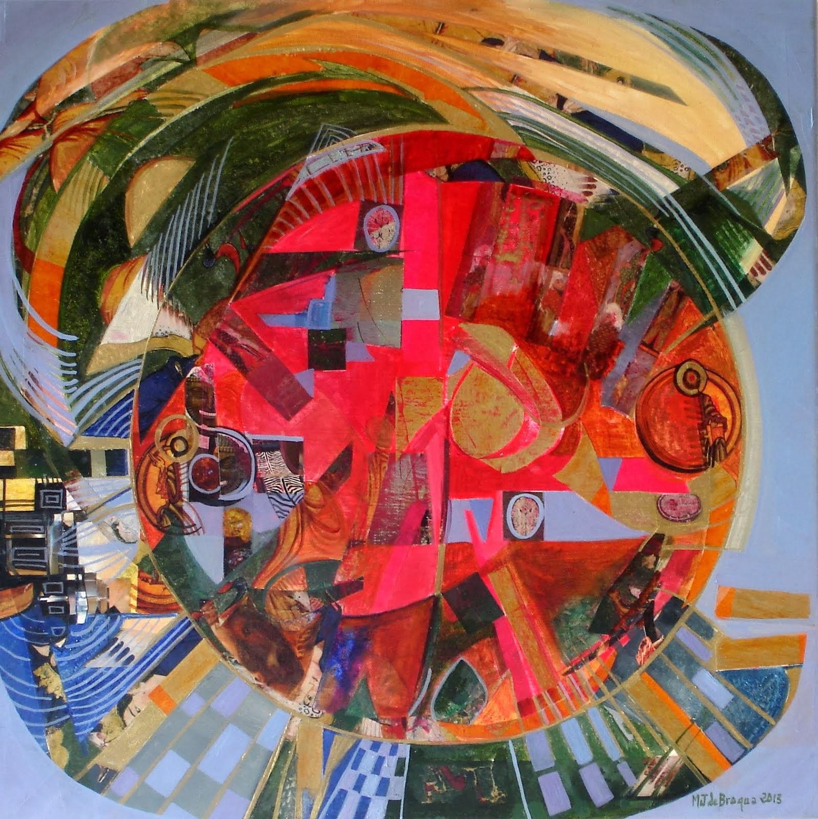 Le carrousel - 50 x 50 cm - 2013