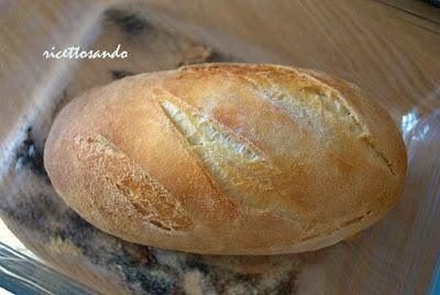 Pane di semola con lievito madre e cottura in pentola