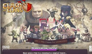 Download Clash Of Clans Mod FHx v6 Private Server Indonesia Update 2015