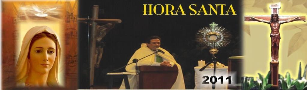Horas Santas - Año 2011