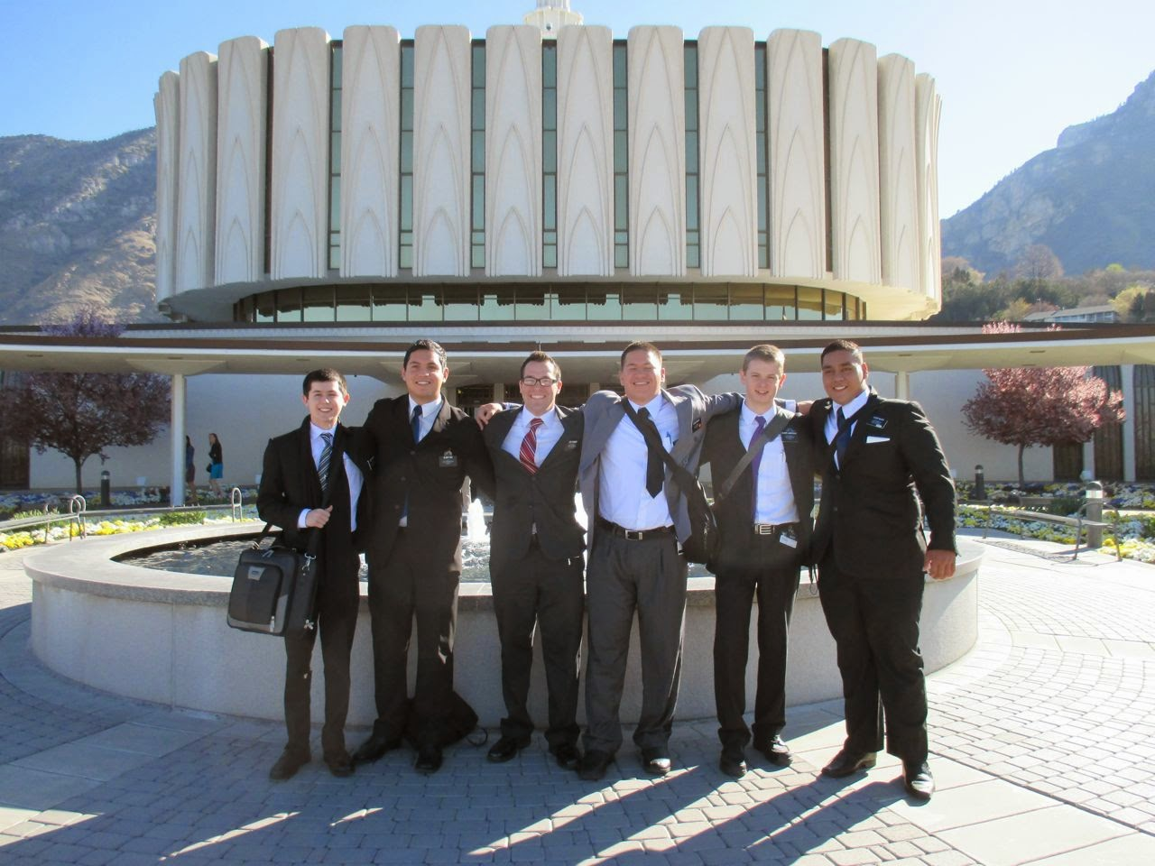 MTC Elders @ Provo Temple
