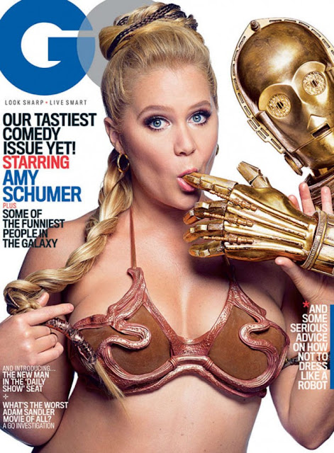 Amy Schumer – GQ Cover Magazine (August 2015)