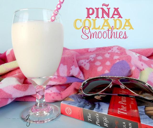 Piña Colada Smoothies at my3monsters.com