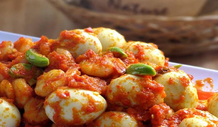 resep telur puyuh balado inirecipes