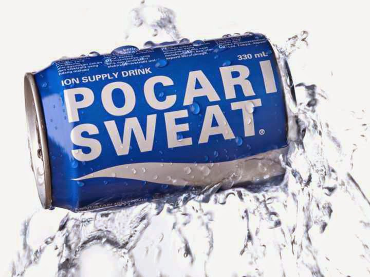 Pocari Sweat soft drink