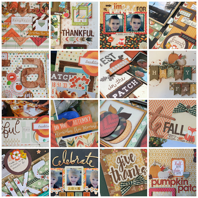 My Creative Scrapbook November Main Kit Sneak Peeks