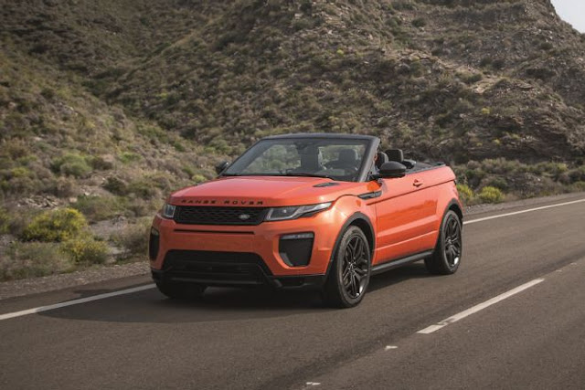 2017 Land Rover Range Rover Evoque Convertible Review