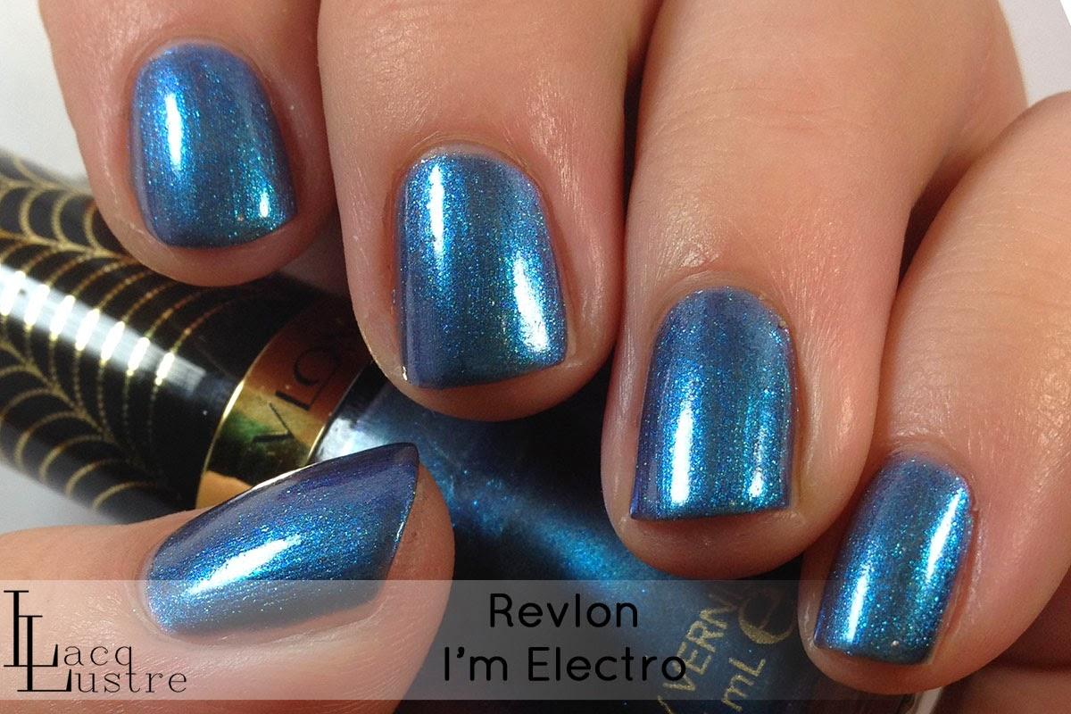 Revlon I'm Electro swatch