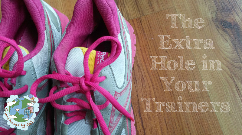 Fix It Friday -  The Extra Hole In Your Trainers