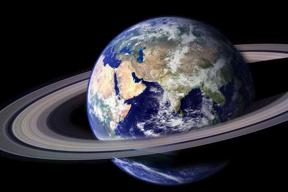 jika bumi punya cincin