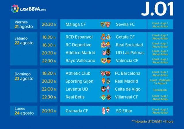 Liga BBVA 2015/16 - Reprodução