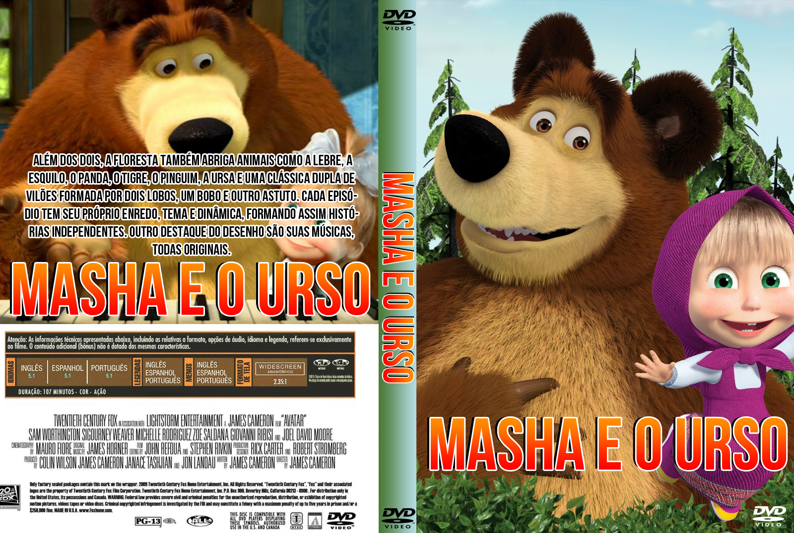 Masha e o Urso O Filme Masha e o Urso O Filme Masha 2Be 2Bo 2BUrso