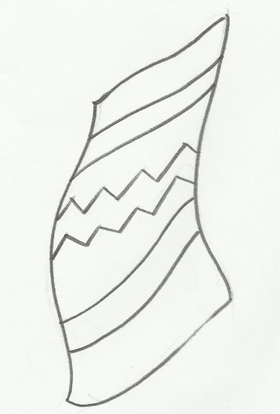 Desenho de toalha para colorir