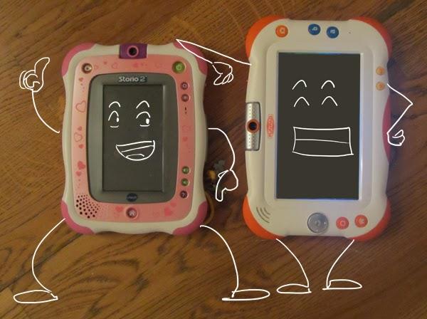 papacube test et avis de la tablette pour enfants funpad de vid ojet. Black Bedroom Furniture Sets. Home Design Ideas
