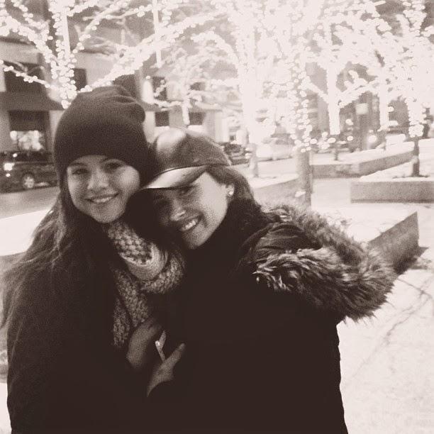 Selena Gómez junto a Demi Lovato