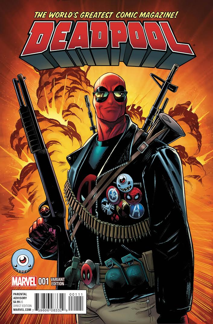 Every Variant Cover For Deadpool 1 Deadpool Bugle