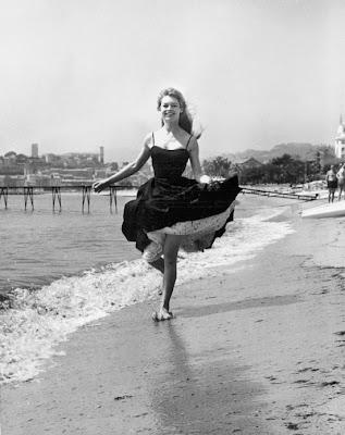 iviera, brigitte bardot, 1950's