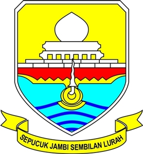 orari lokal kota jambi lambang kabupaten di provinsi jambi