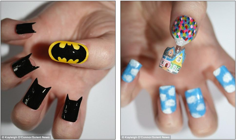Sesame street nail art gallery nail art and nail design ideas craziest nail designs image collections nail art and nail design everybody loves art december 2012 she prinsesfo Gallery
