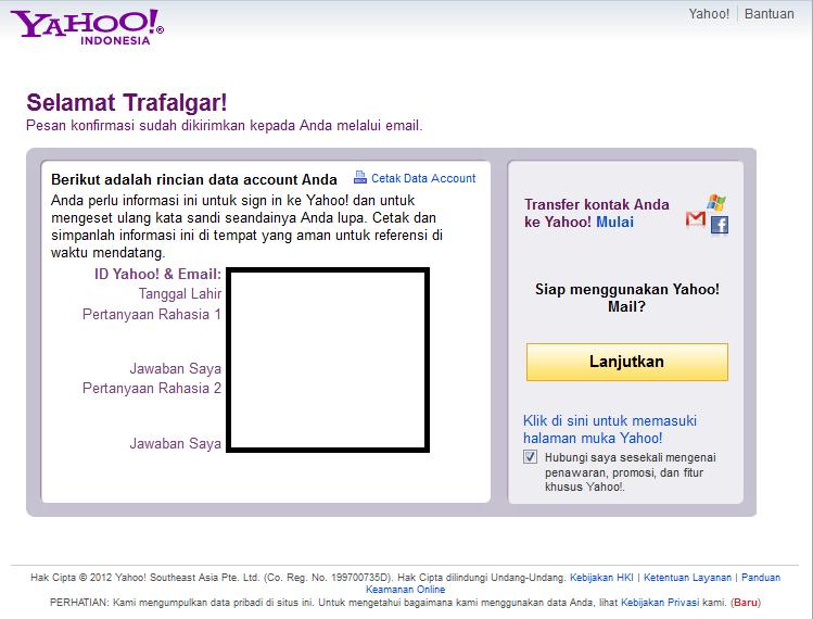my blogz membuat e mail di yahoo