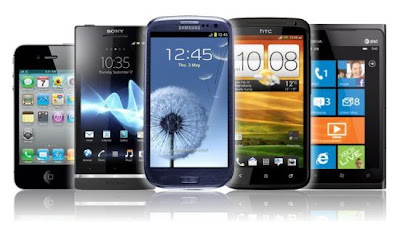 SMARTPHONE FROM BLACKBERRY, SONY, HTC AND MOTOROLA