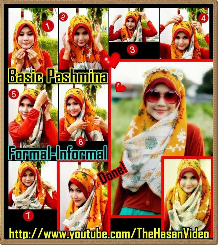 Tutorial Hijab Pashmina Simple - Bagian #17 - Ajaran Agama Islam