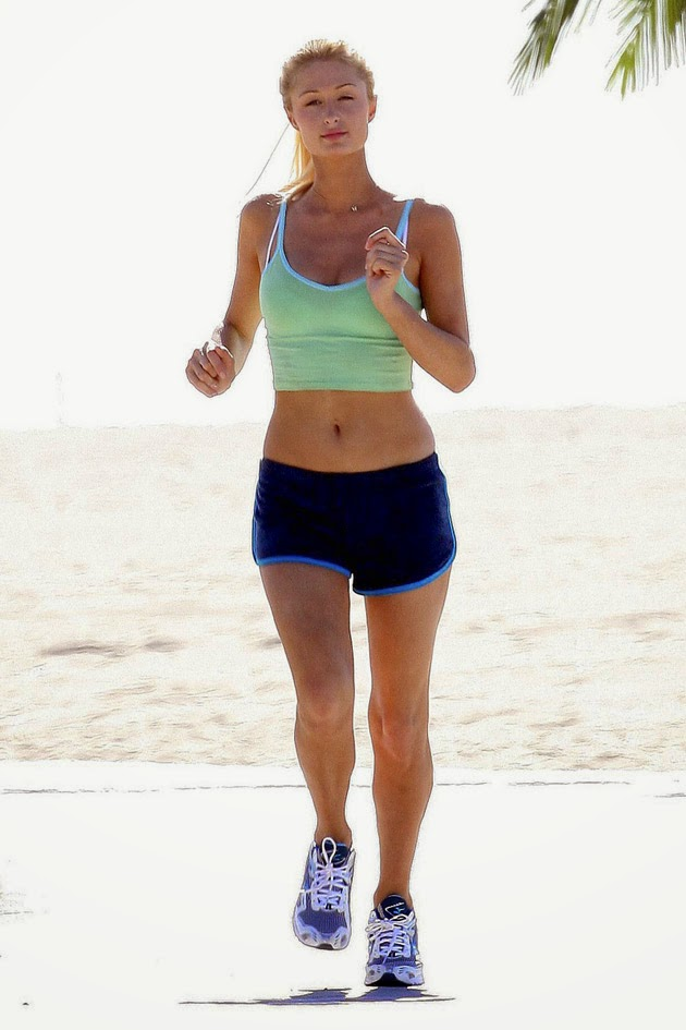 Correr en la playa running fitness