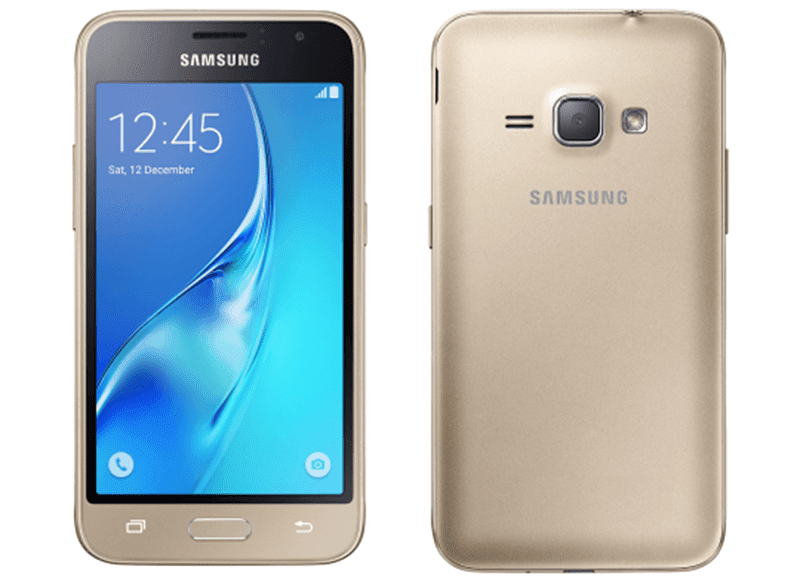 Samsung Galaxy J1 gold color