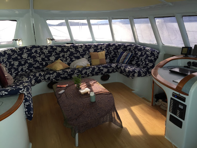 Private Cruise Charter interior