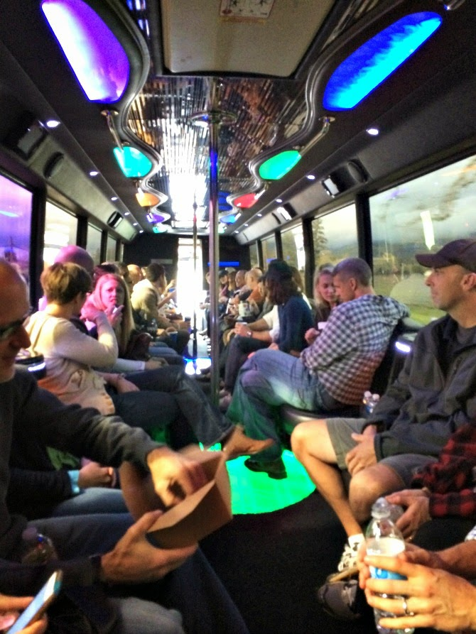 The Holland House: Napa Party Bus