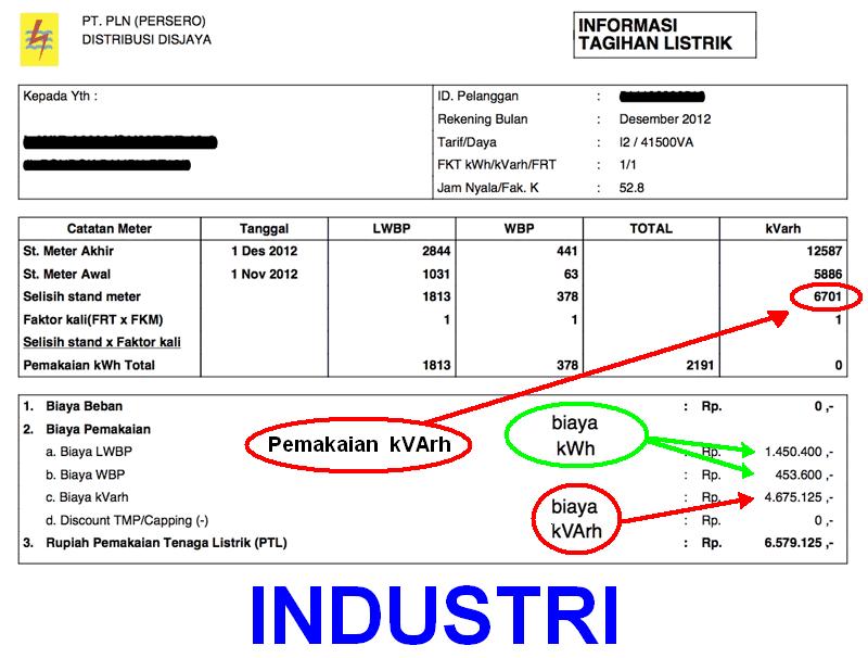 Cara menghitung kebutuhan kapasitor bank untuk memperbaiki faktor marilah kita mulai menghitung hitung tagihan listrik seperti contoh dibawah ini ccuart Choice Image