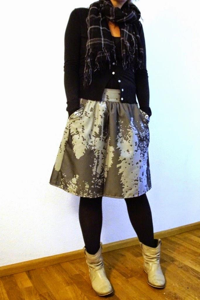 recykleren 4.0, Lotta skirt (pattern compagnie M) - huisje boompje boefjes