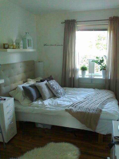 Camillas livsstil Linneas sänggavel steg för steg