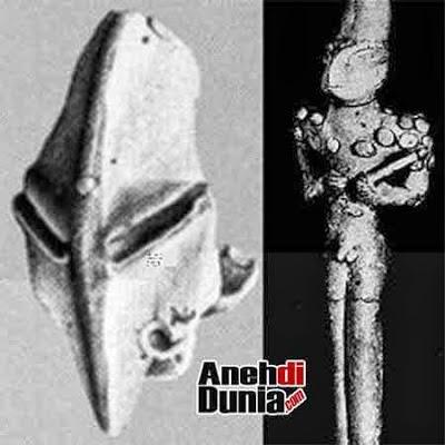 Benda Kuno Yang Dikaitkan Dengan Keberadaan Alien