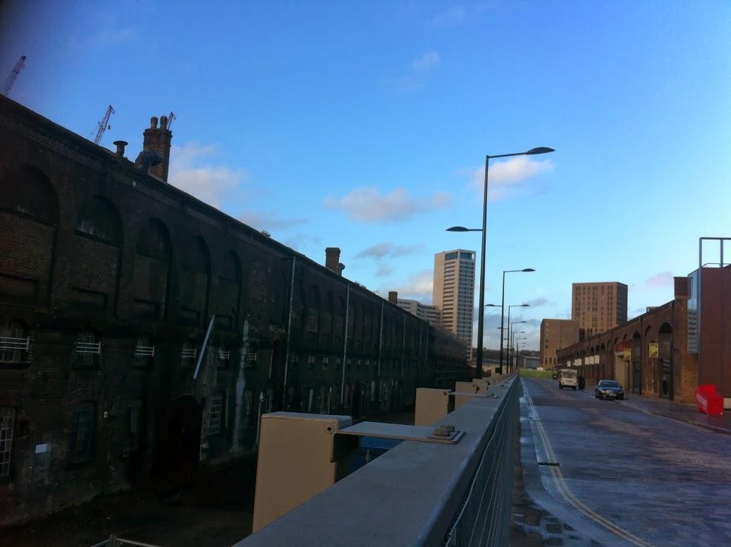 Renovation in progress, Stable Street, Kings Cross, London