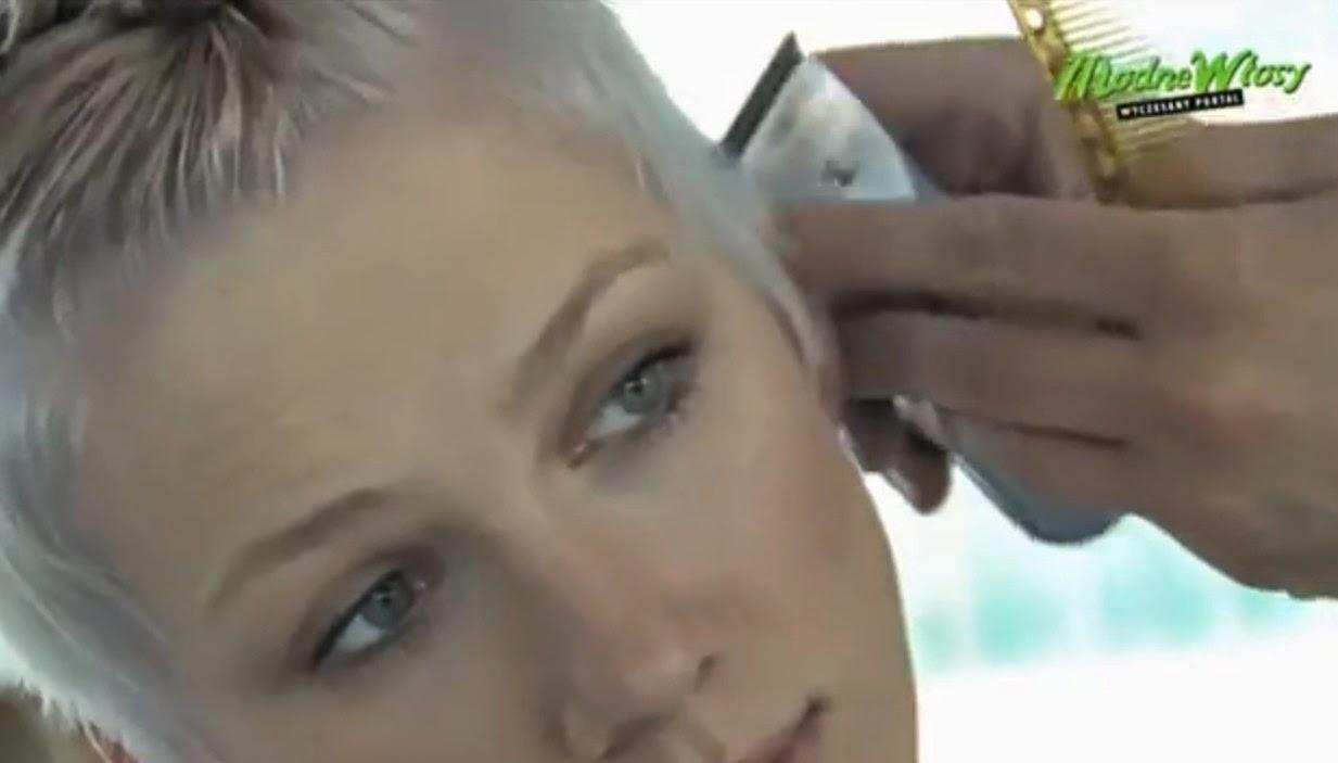 Woman Shave Bald Razor Nape Shave Video Dailymotion | Rachael Edwards